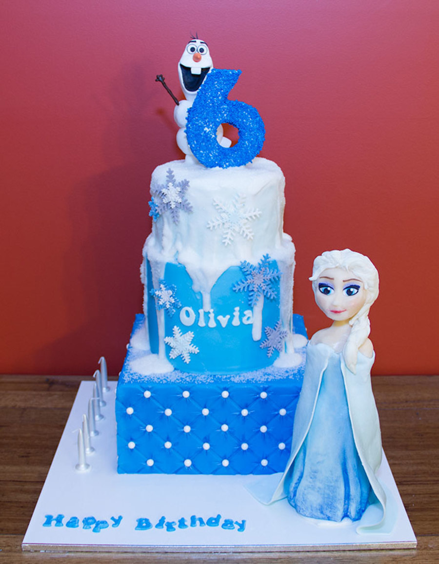 Frozen Elsa And Olaf CakeCentralcom