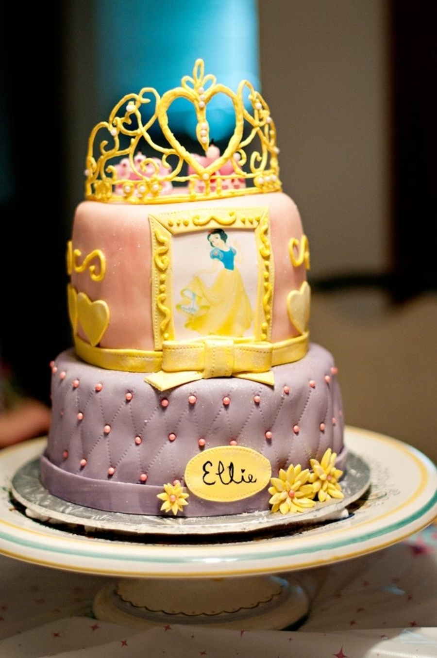 Snow White Birthday Cake Cakecentral Com