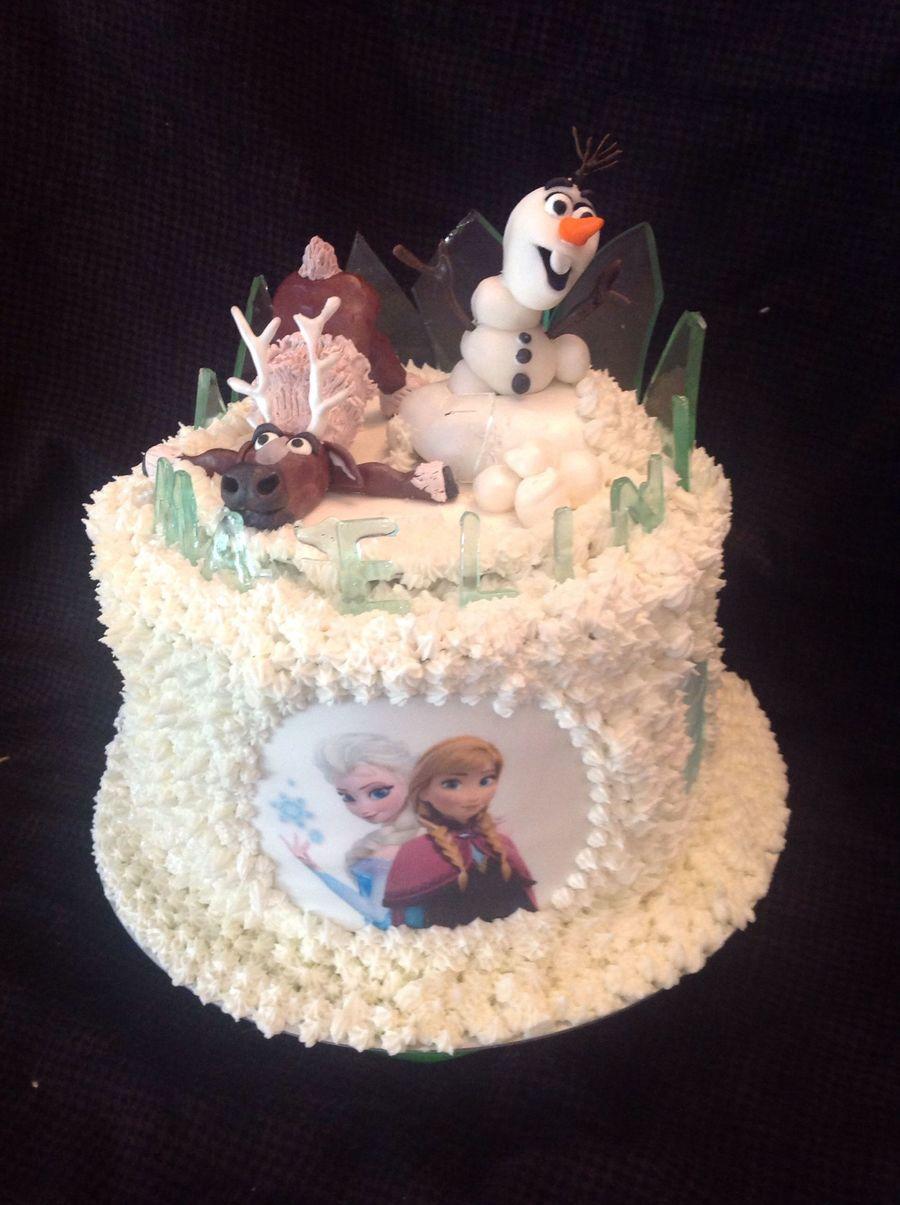 Disney Frozen Cake Modeling Chocolate Figures Edible Image And ...