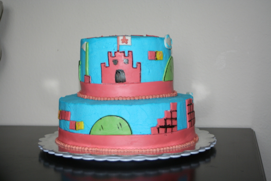 Video Game Cake on Cake Central