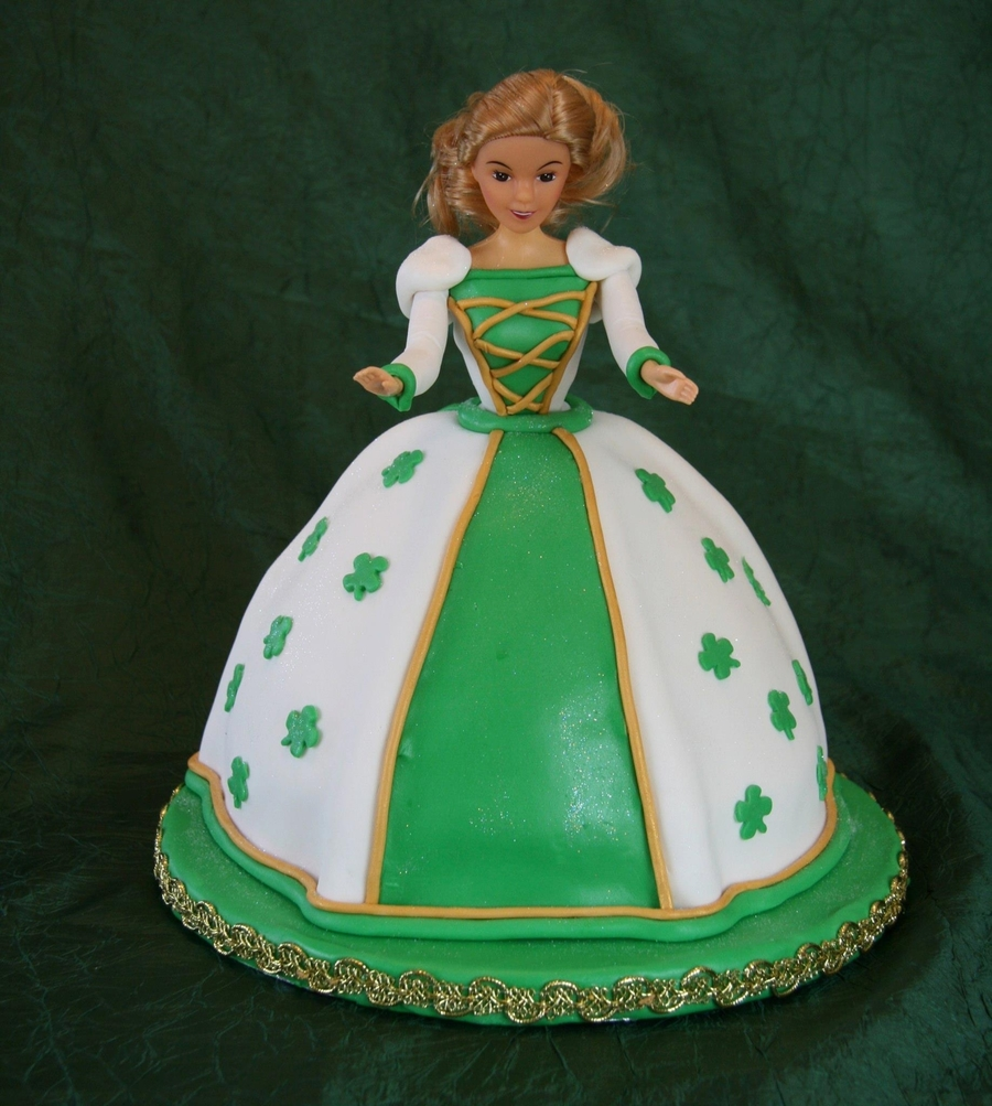 St. Patrick's Day Princess on Cake Central