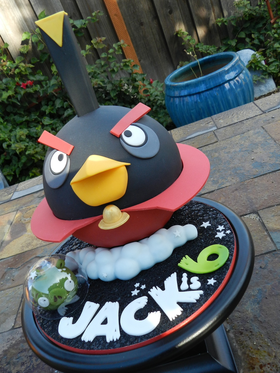 Angry Birds Space Blackbird