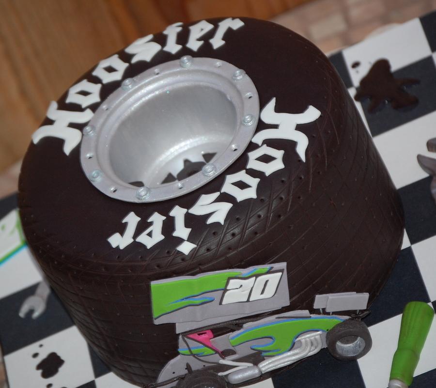 Hoosier Tire Cake
