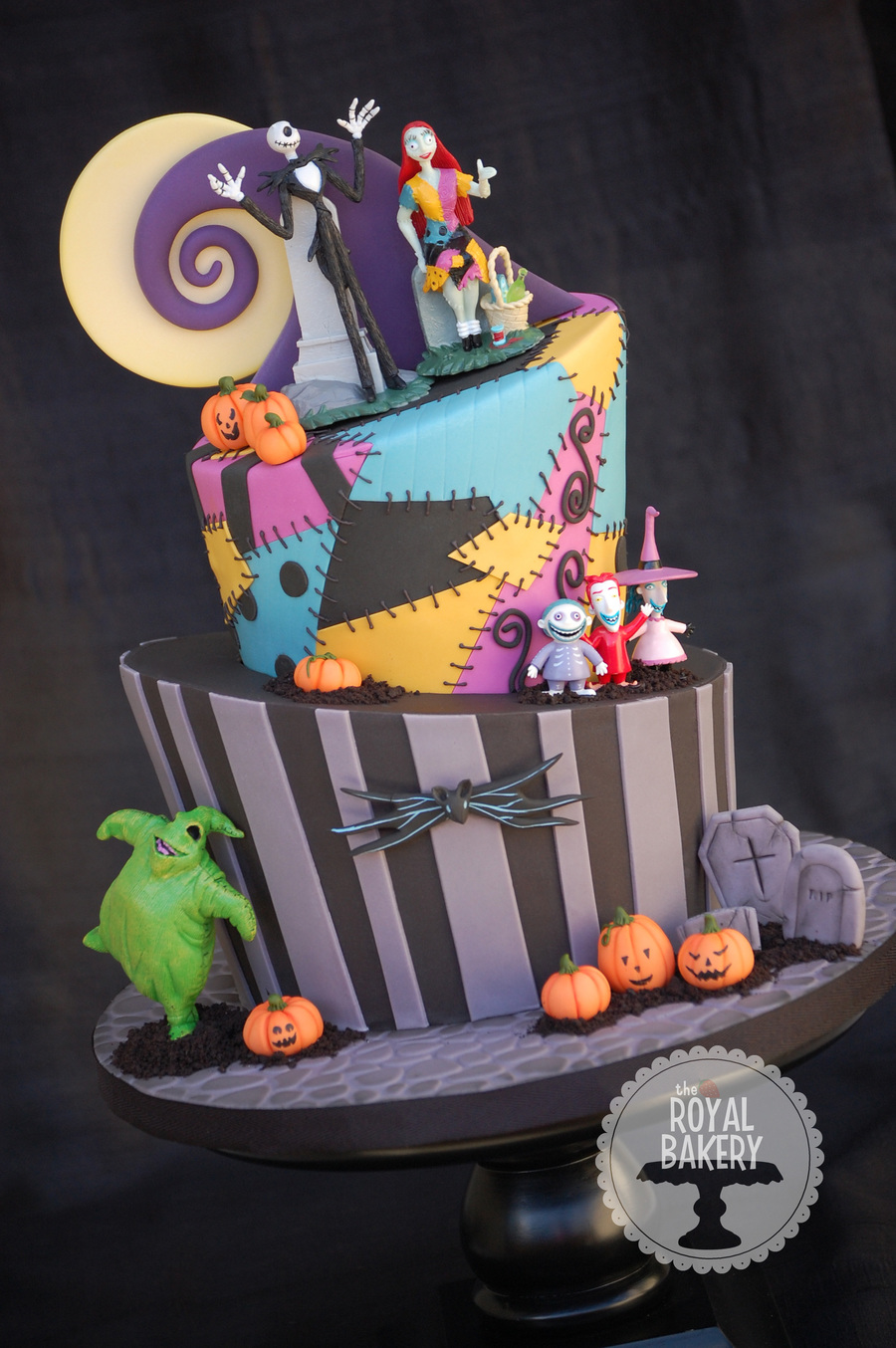 nightmare before christmas cake a nightmare before birthday cake i was given 6164