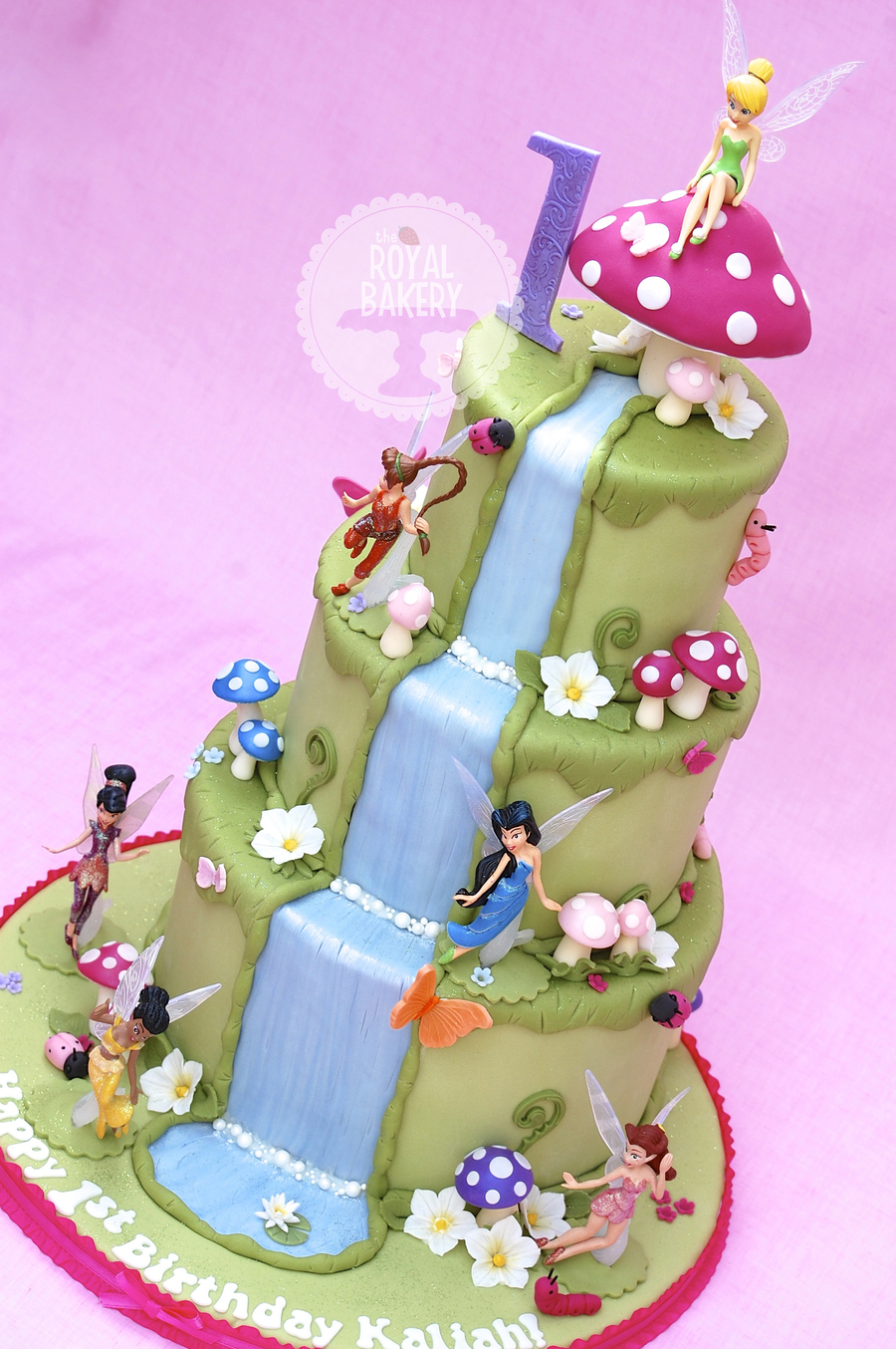 Tinkerbell And Friends on Cake Central