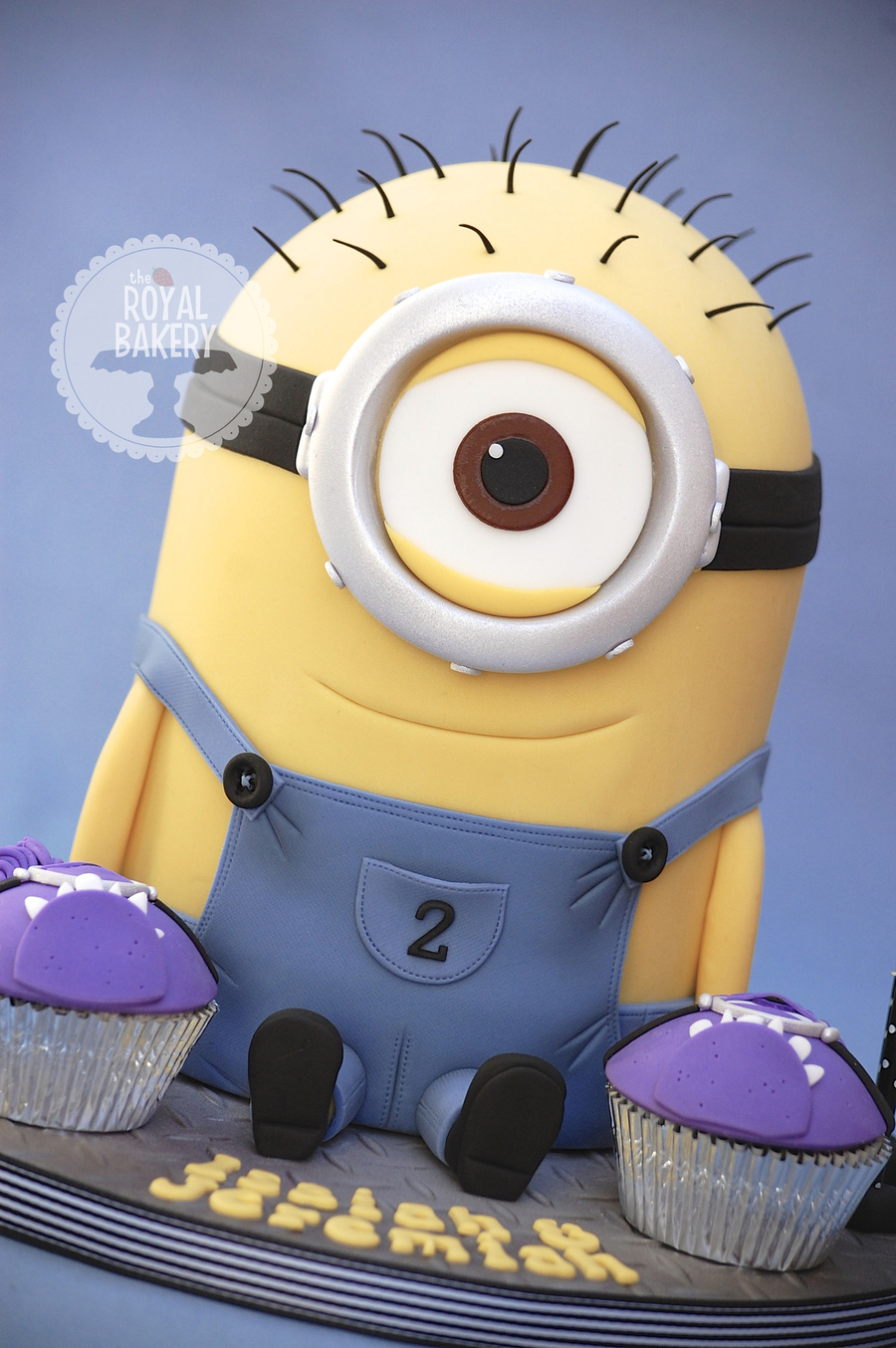Kevin The Minion Cake Cakecentral Com
