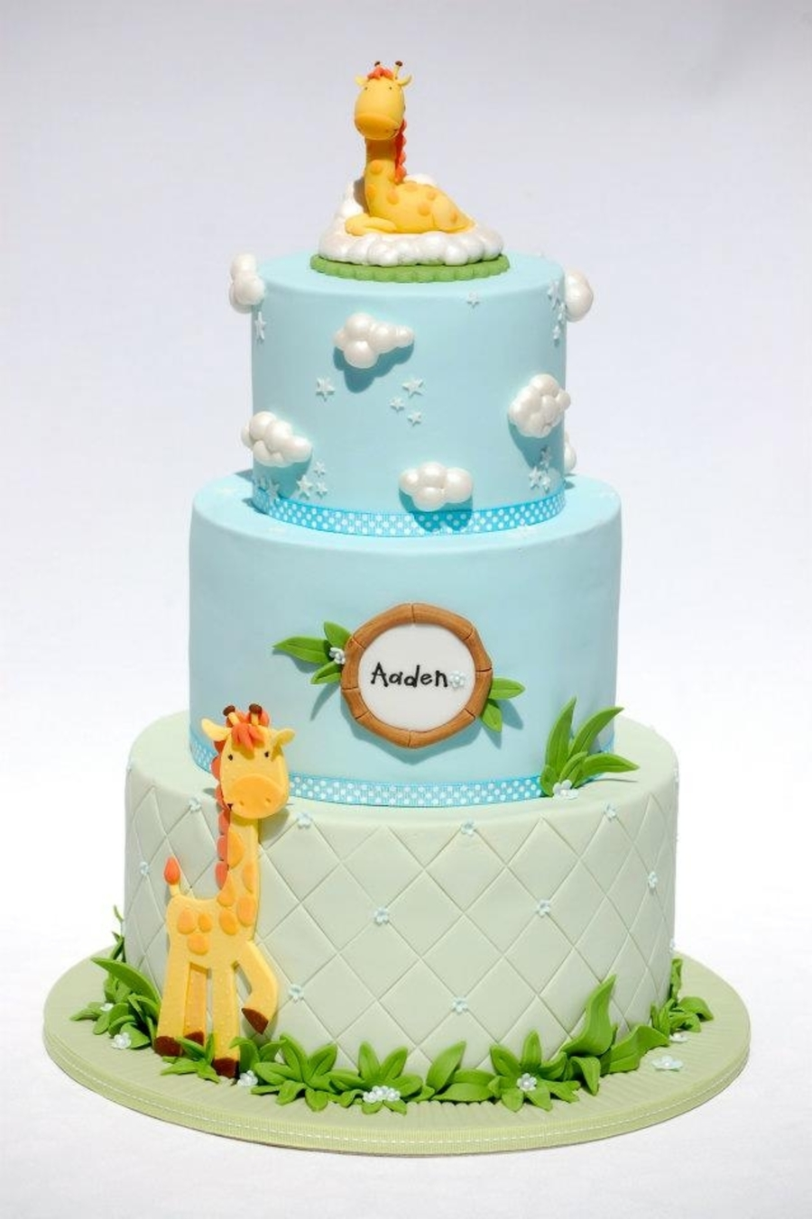 Mummy And Baby Giraffe Cakecentral Com