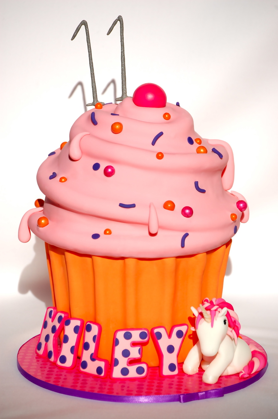 Unicorn Giant Cupcake