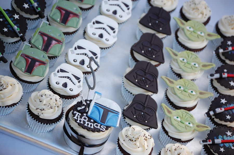 Star Wars Cupcakes Cakecentral Com