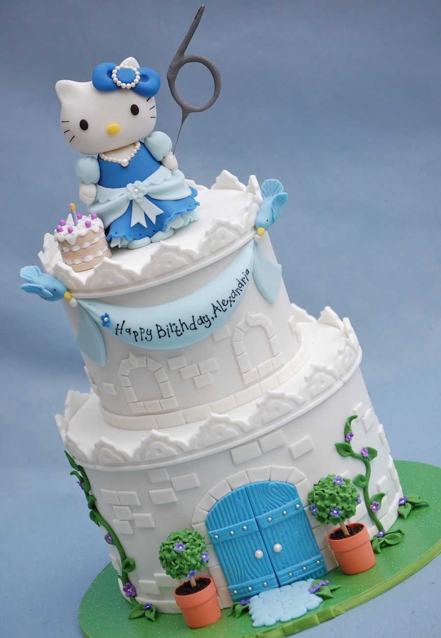 Hello Kitty Castle Cakecentral Com