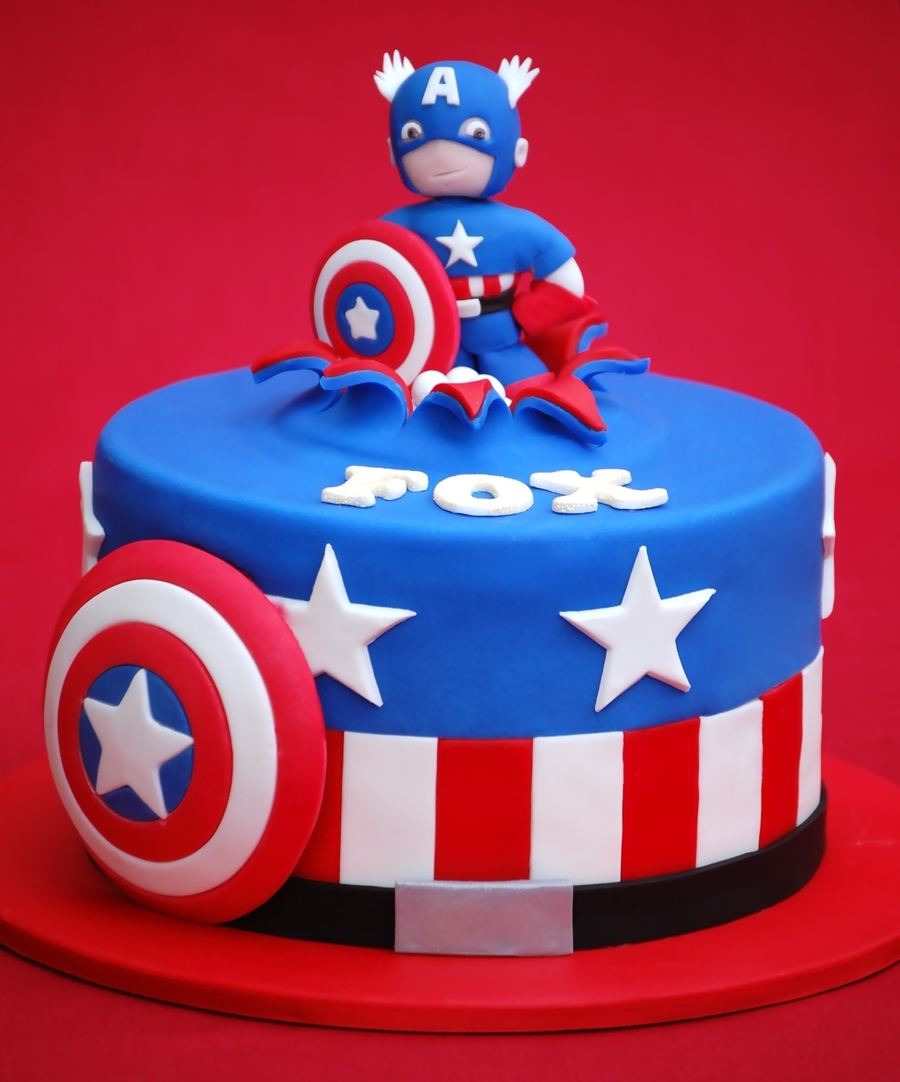 Superheroes Cakes Cakecentral Com