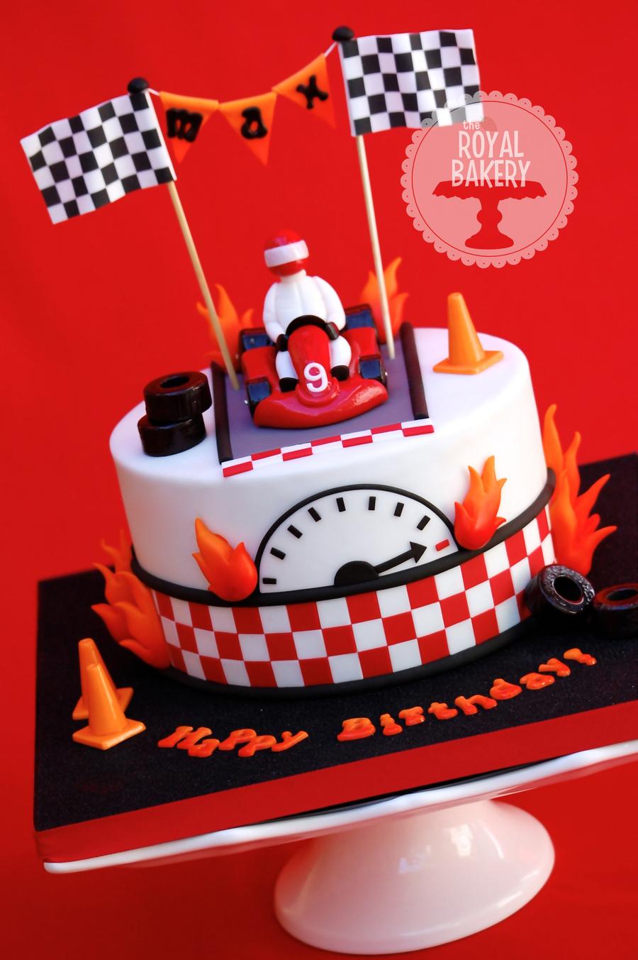 Go Kart Cake Cakecentral Com