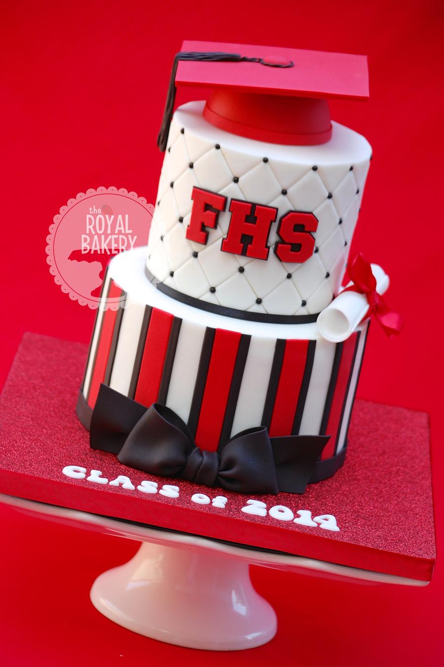 High School Graduation Cake - CakeCentral.com