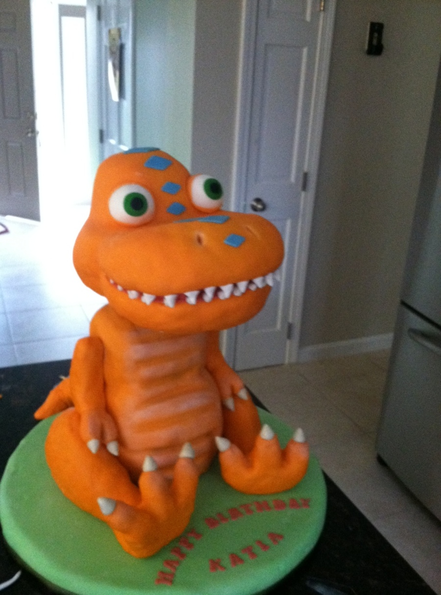 Buddy The Dinosaur From Dinosaur Train  on Cake Central