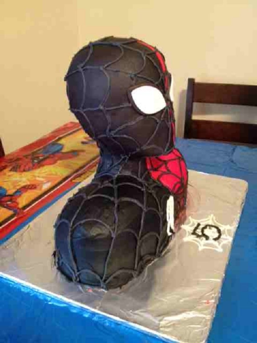 Black spiderman cakes - photo#52