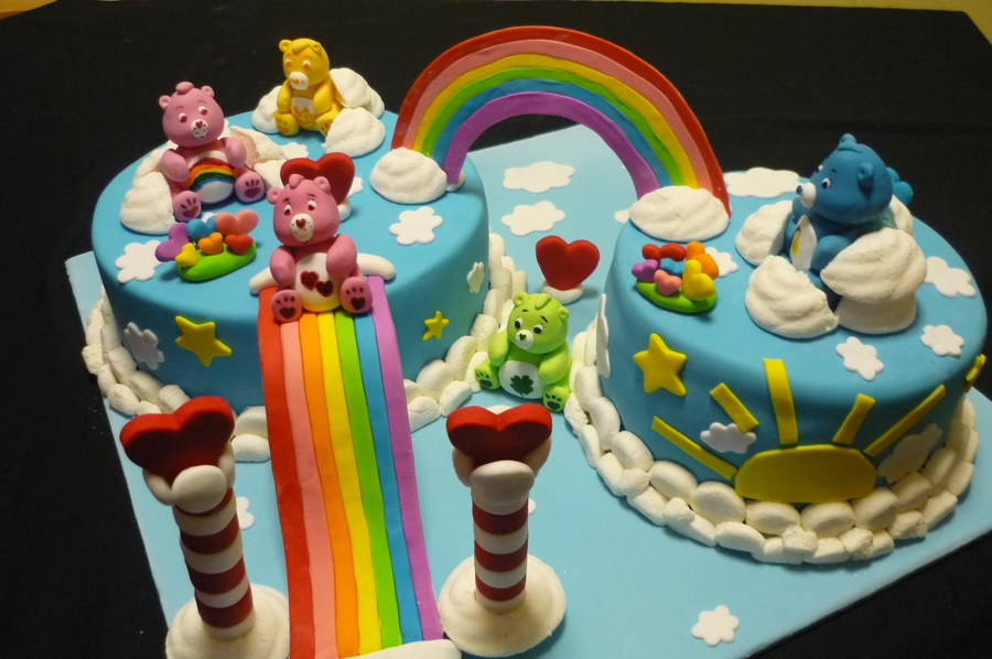 Care Bear Cake on Cake Central