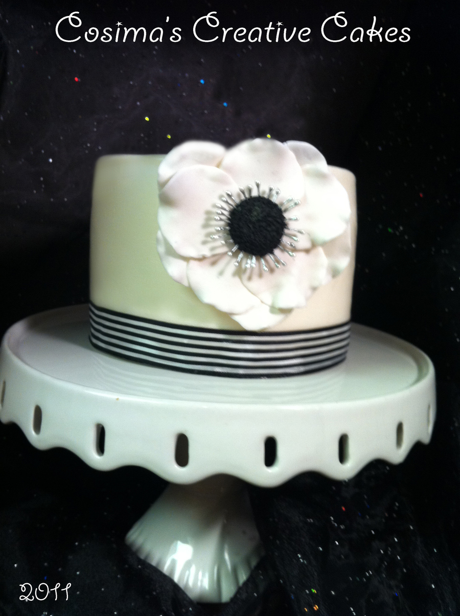 Anemones on Cake Central