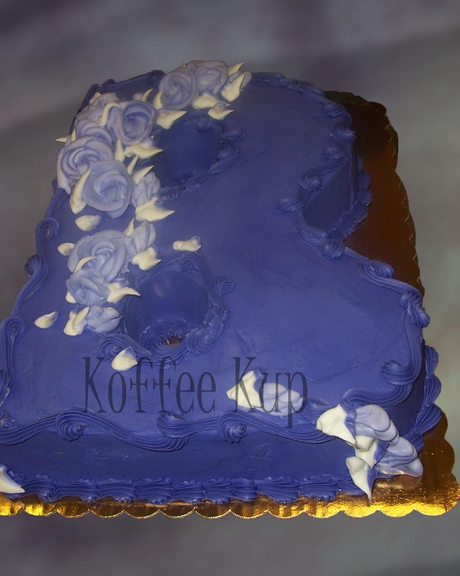 letter b on cake central