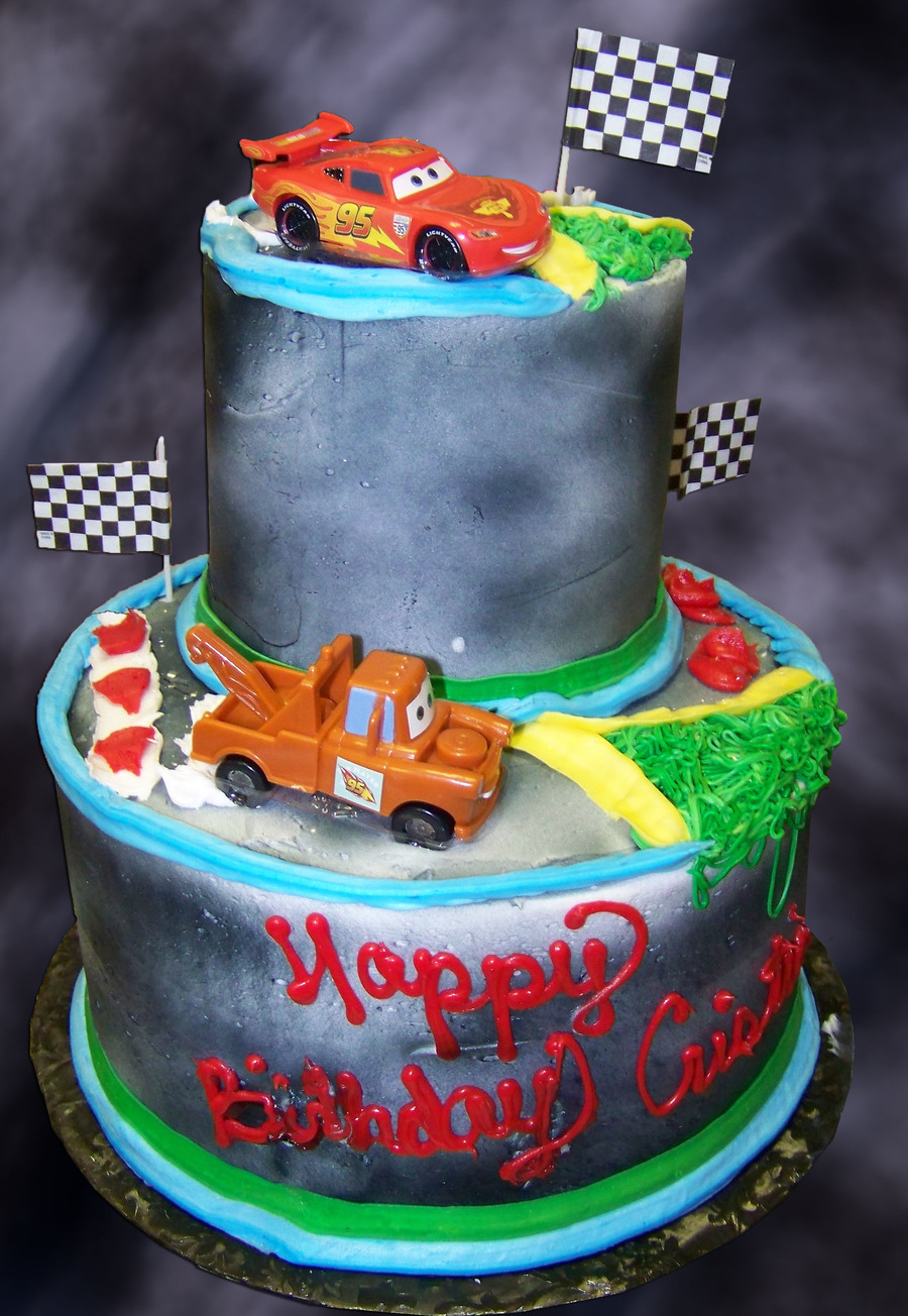 Mc Queen And Mater on Cake Central