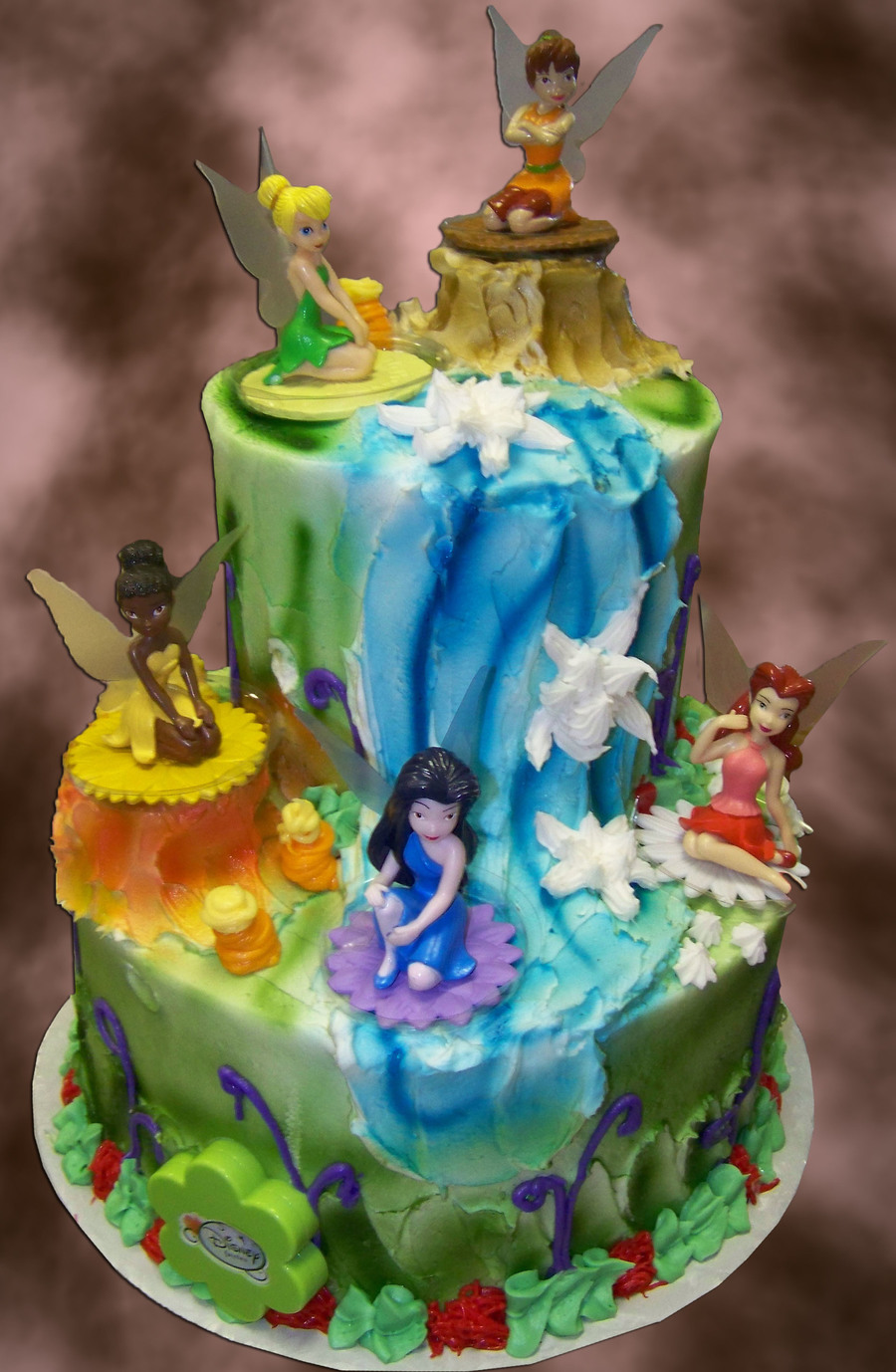 Fairy And Friends on Cake Central