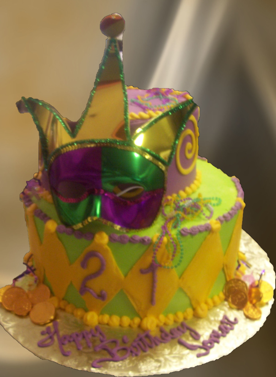 Madigras Cakes on Cake Central