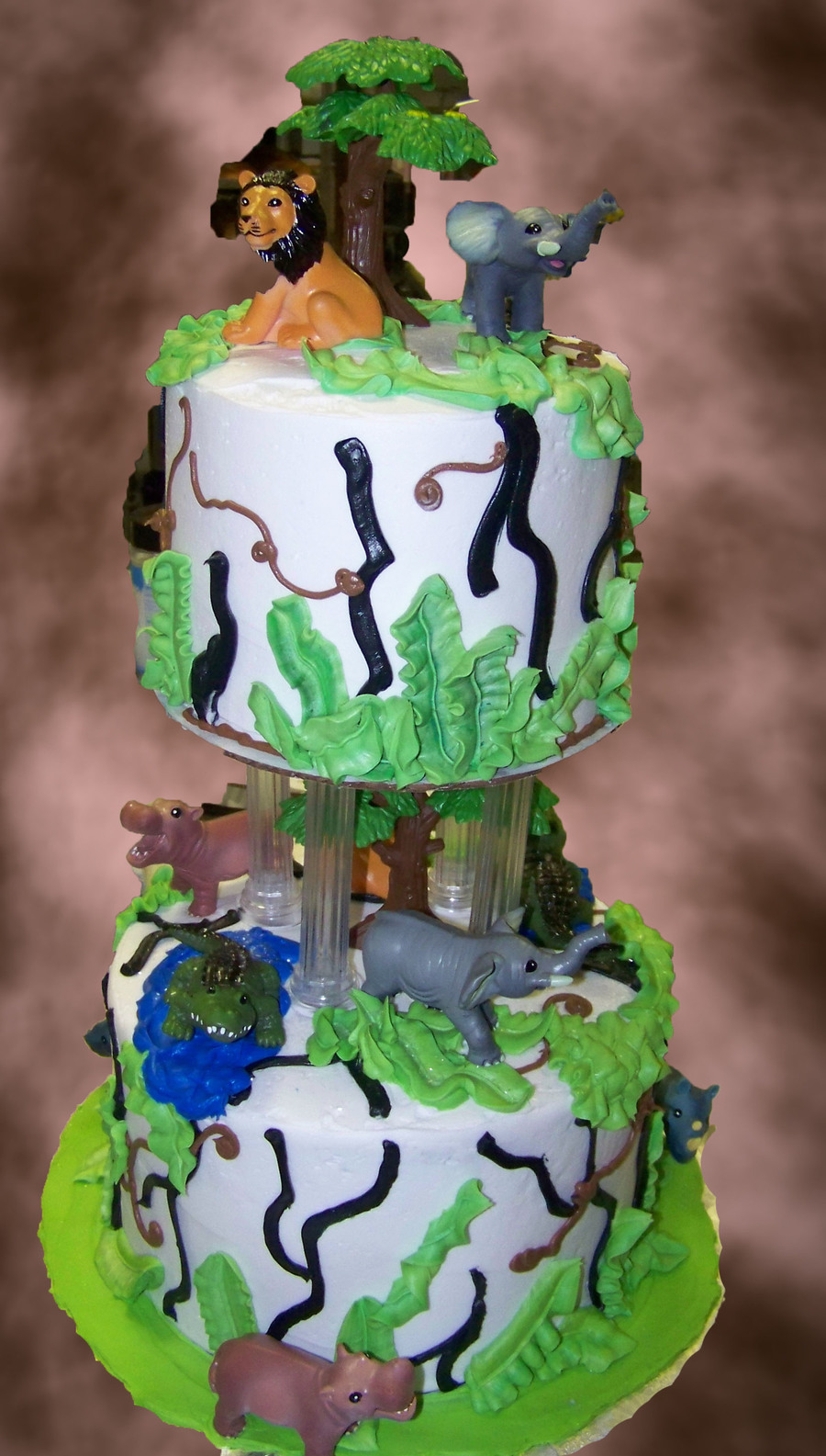 Zoo Animals 1 on Cake Central