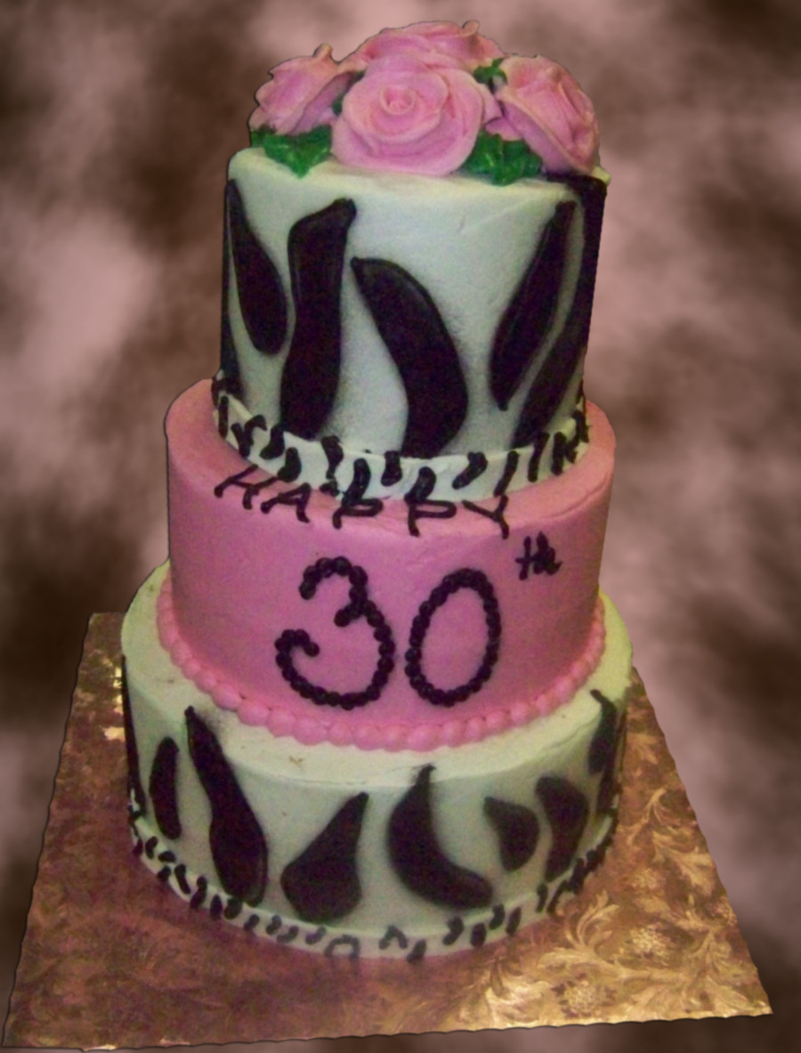 Happy 30 Th Birthady on Cake Central