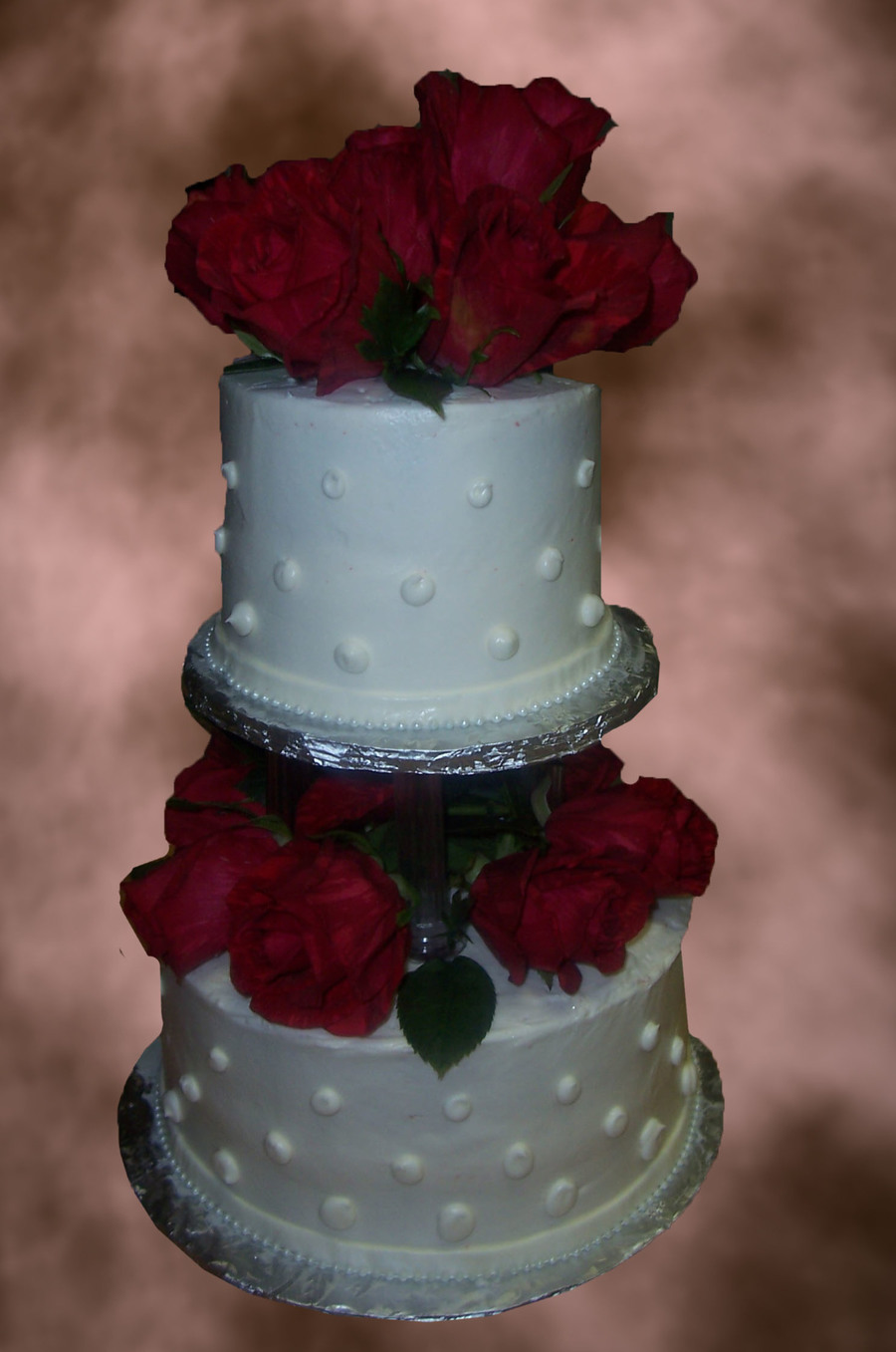 Red Rose Wedding on Cake Central