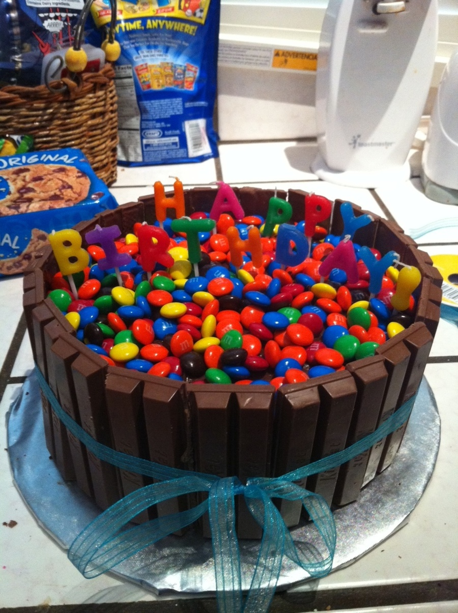 Candy Birthday Cake Cakecentral
