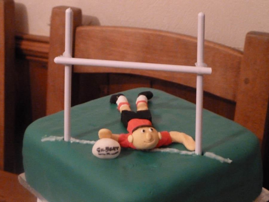 Rugby - Fondant on Cake Central