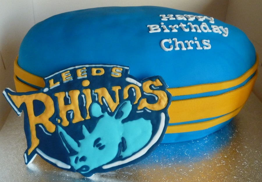 Leeds Rhinos! on Cake Central
