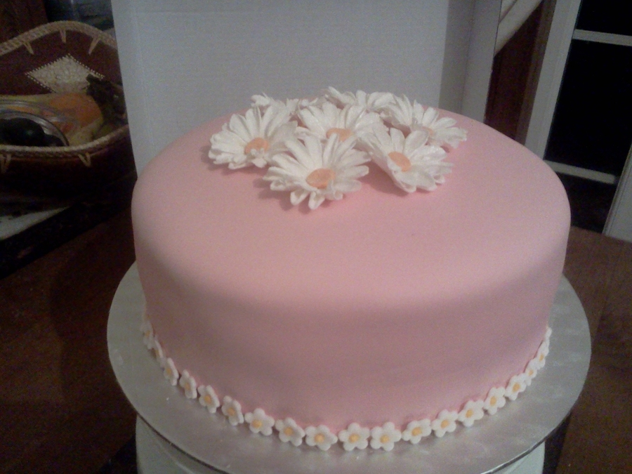 Daisies Again on Cake Central