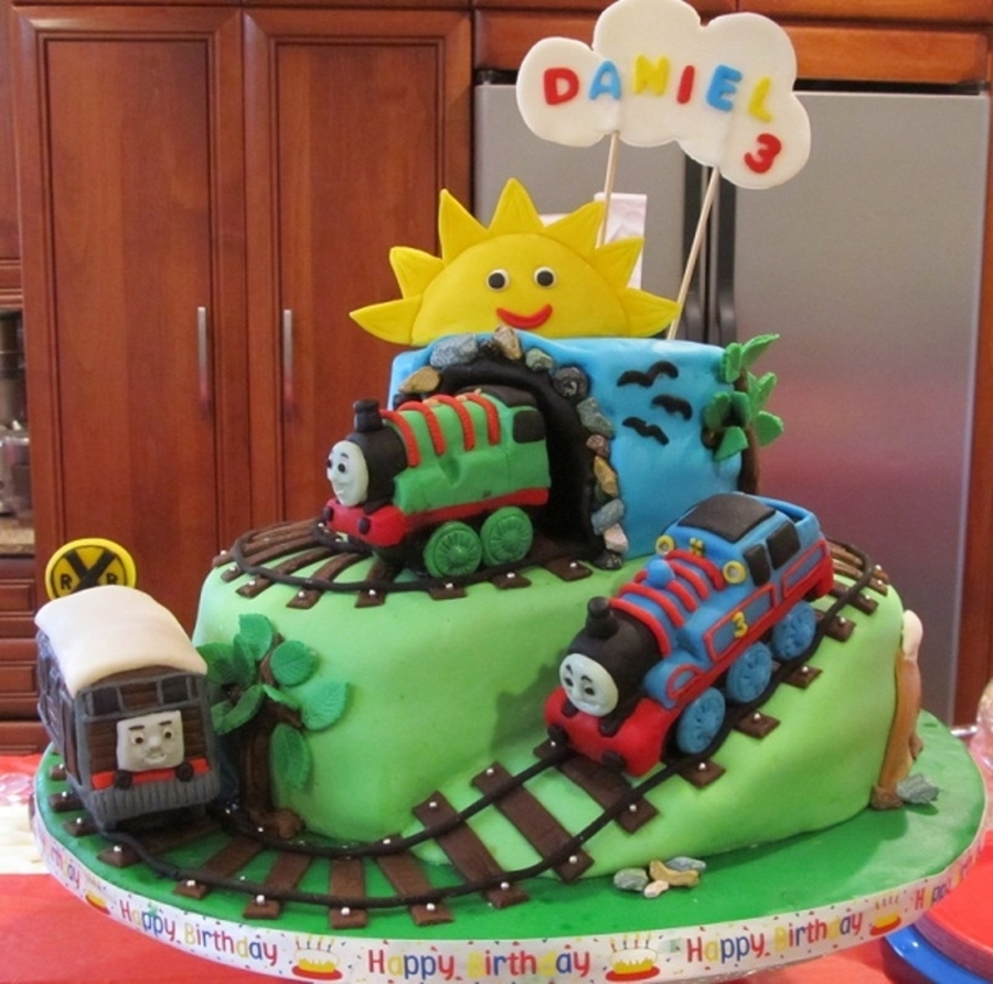 Thomas The Tank Engine Birthday Cake Cakecentral