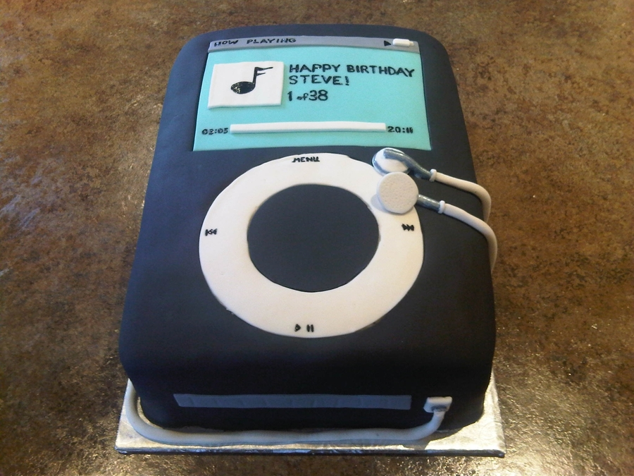 Ipod Birthday Cake on Cake Central