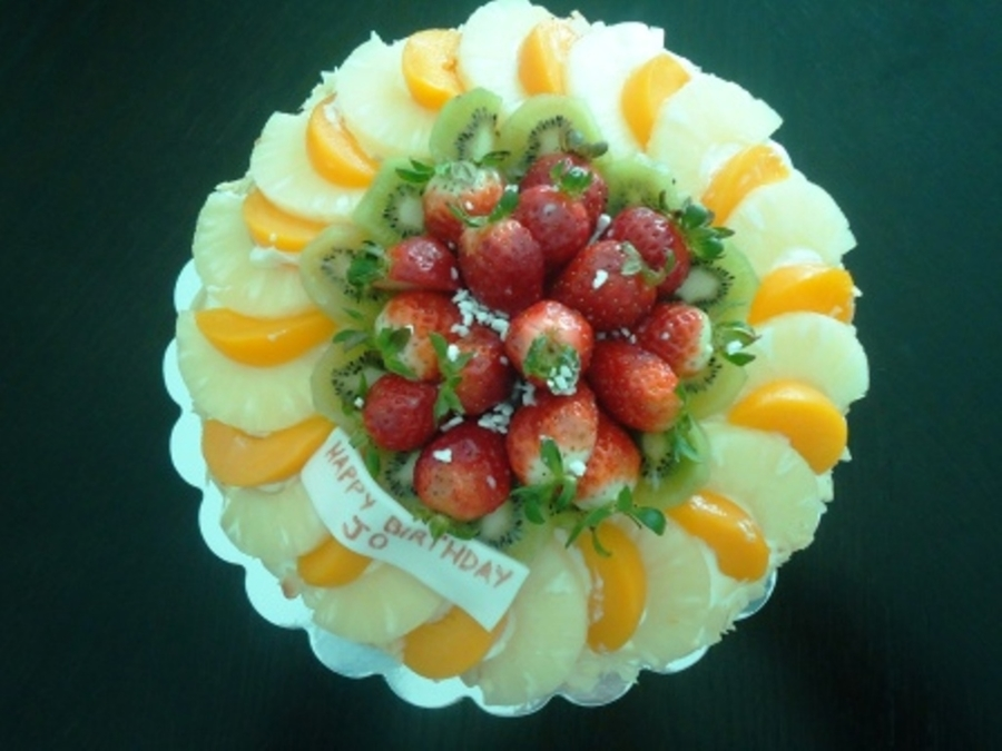 Mixed Fruit on Cake Central