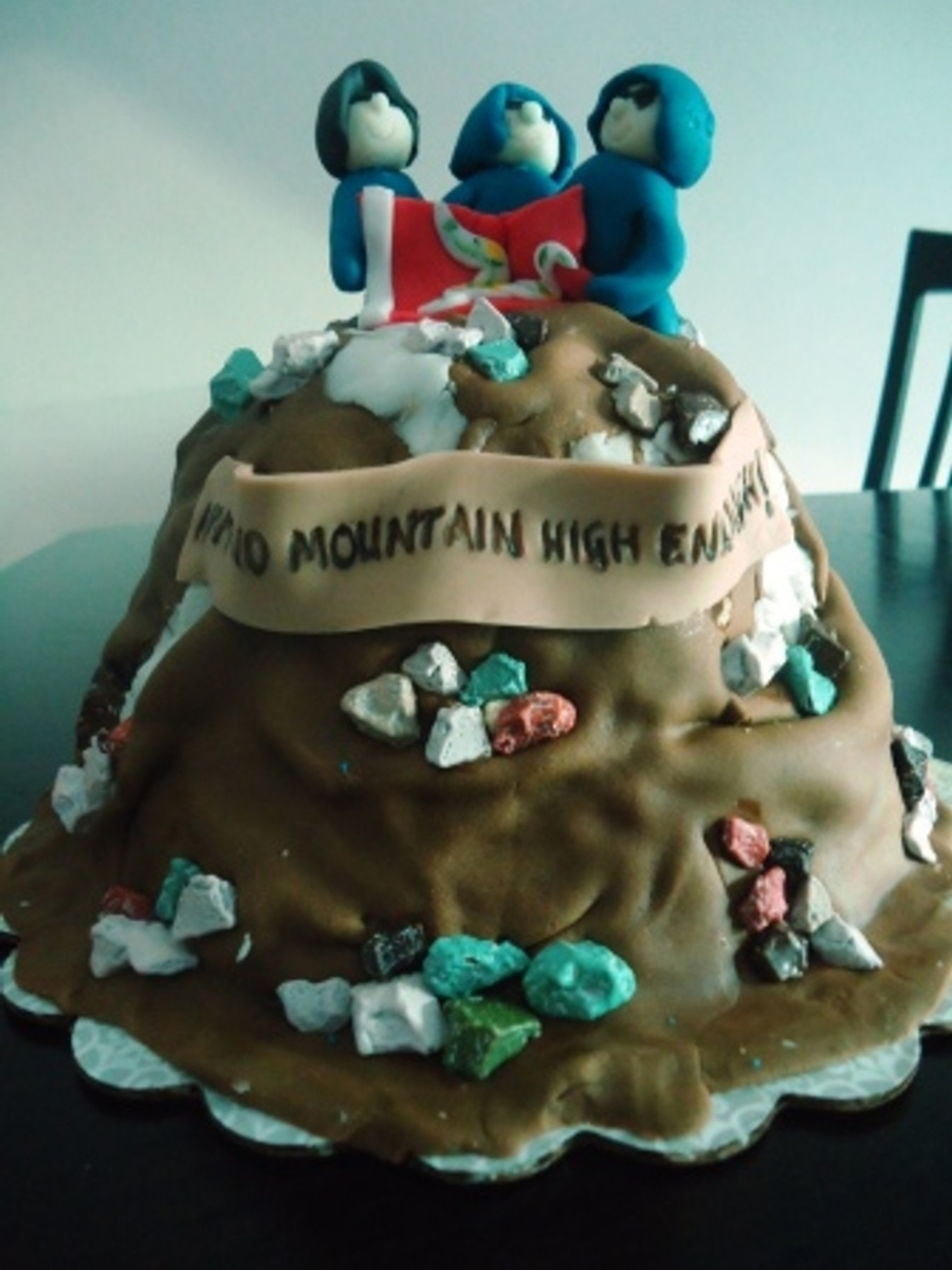 Mountain Climbers on Cake Central