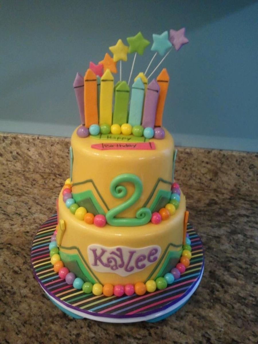 Crayola Crayon Birthday Cakes