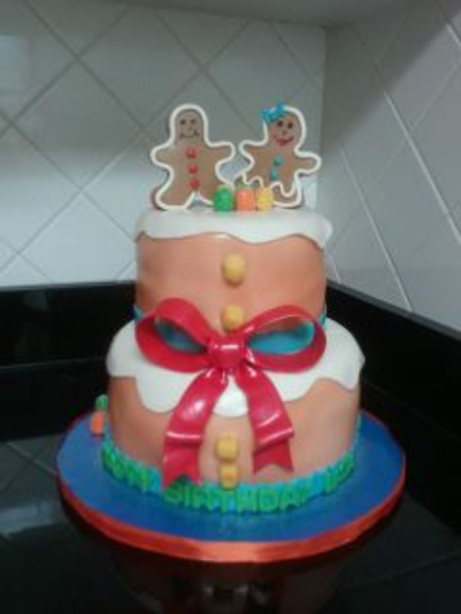 Gingerpeople on Cake Central