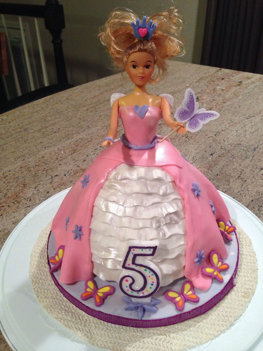Barbie Doll Princess Fairy Cake Cakecentral