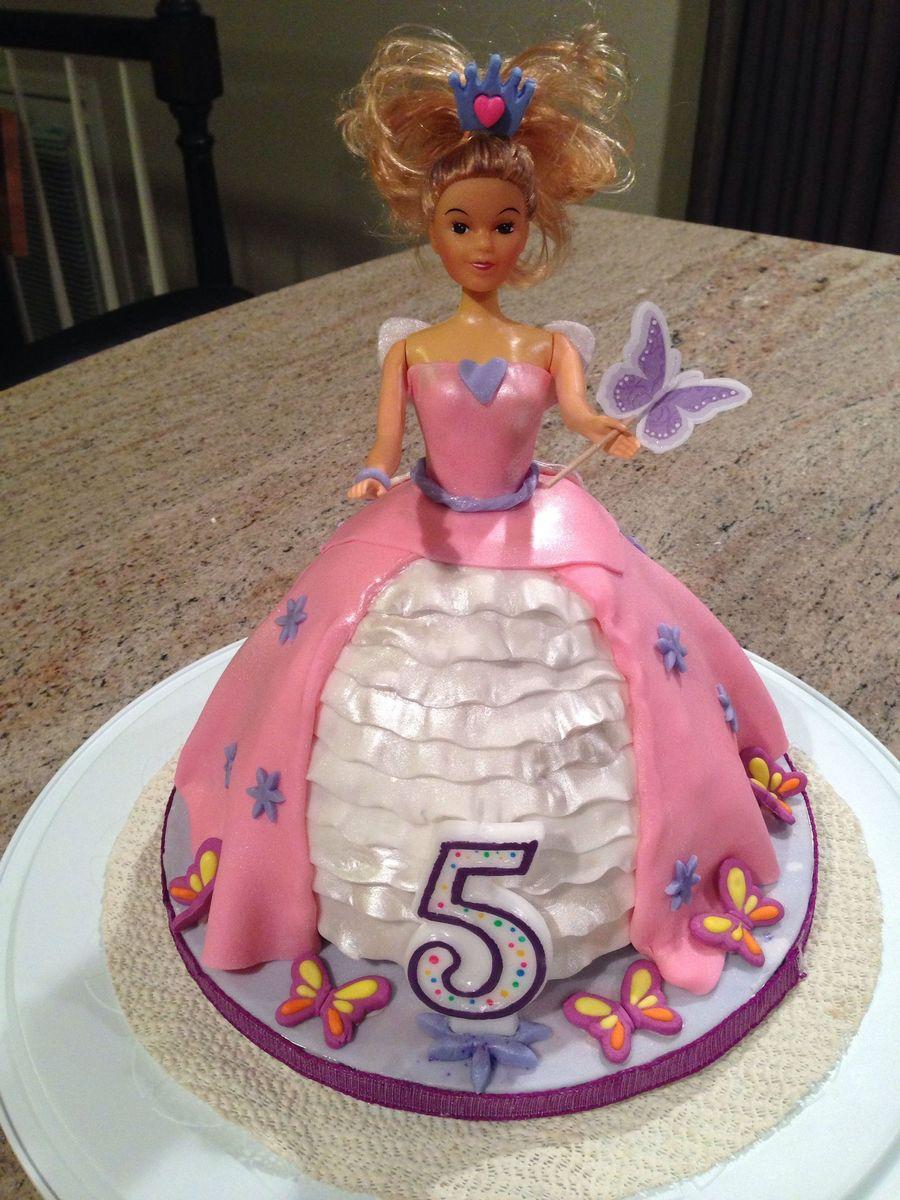 Barbie Doll Princess Fairy Cake Cakecentral Com