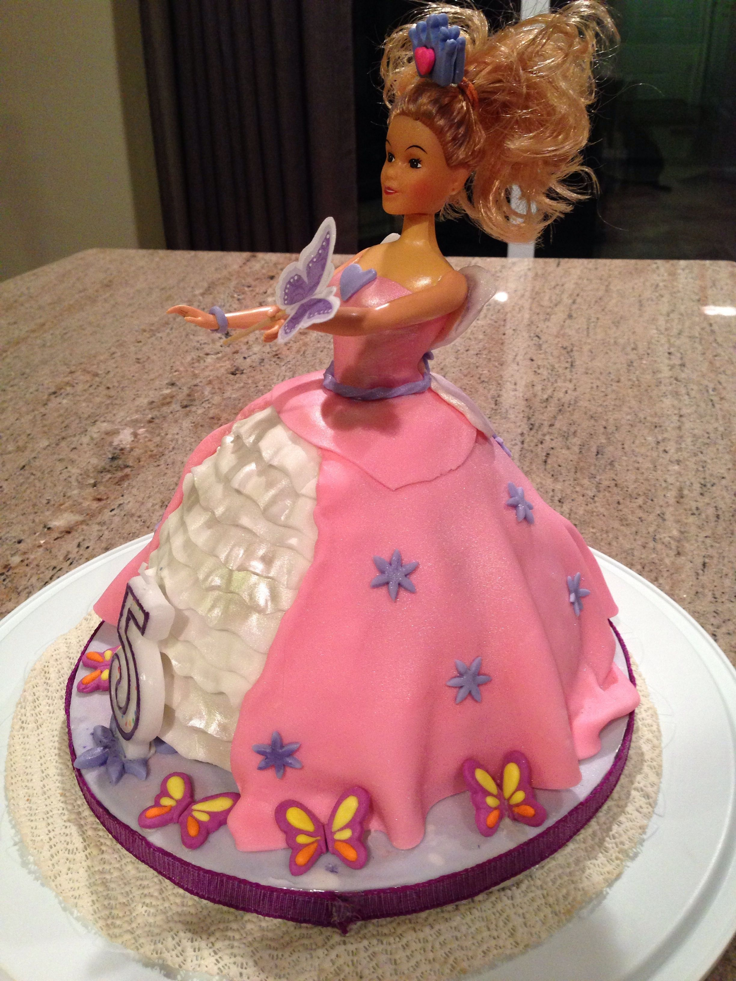 Barbie Doll Princess Fairy Cake Cakecentral Com