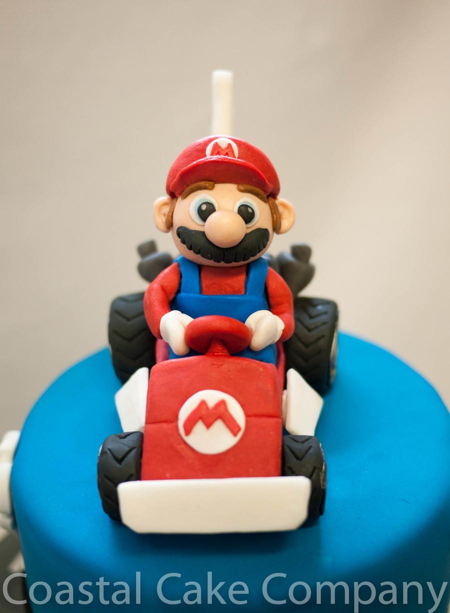 Mario Kart Themed Birthday Cake Cakecentral Com