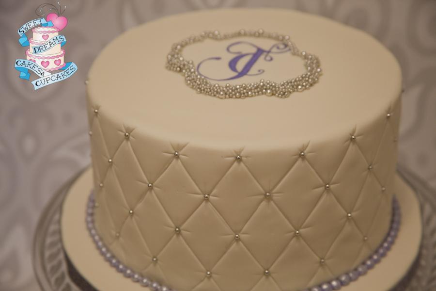 Simple One Tier Wedding Cakes Recipes