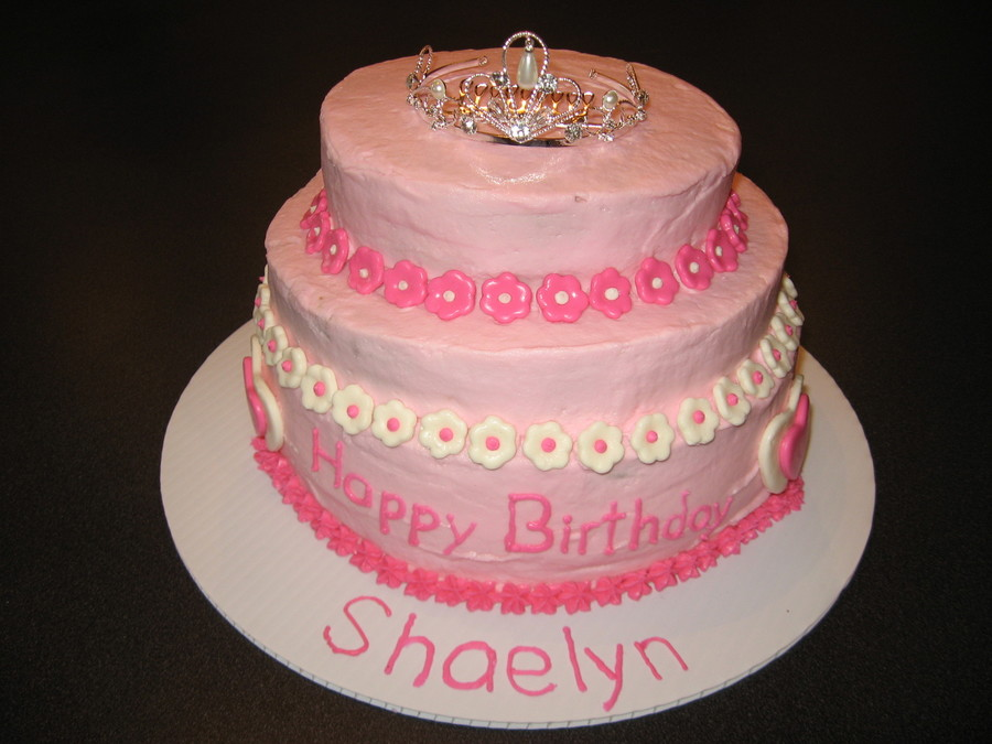 Pretty Pink Princess on Cake Central