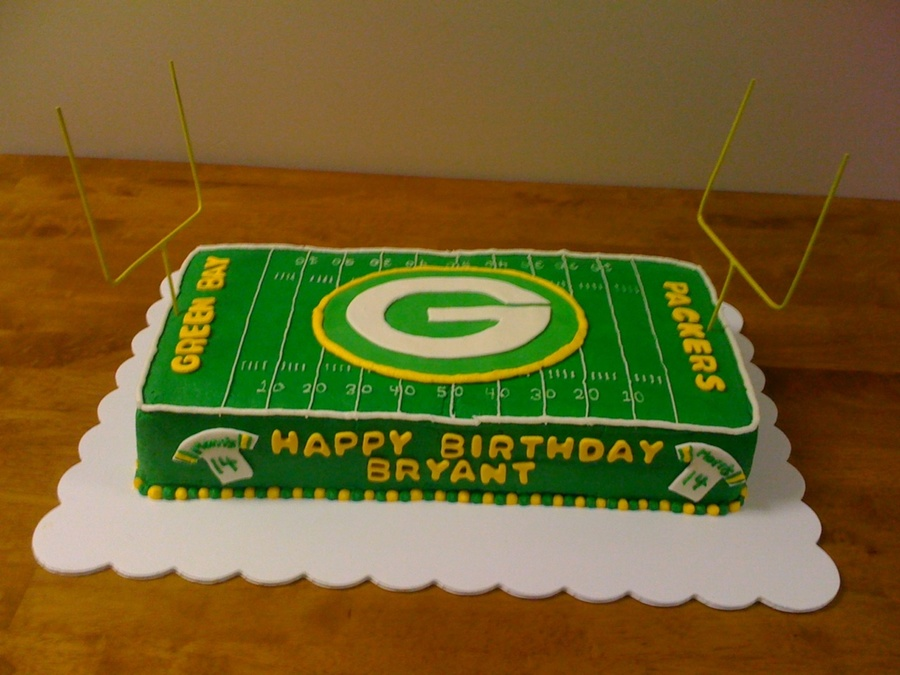 Green Bay Packers Birthday Cakecentral