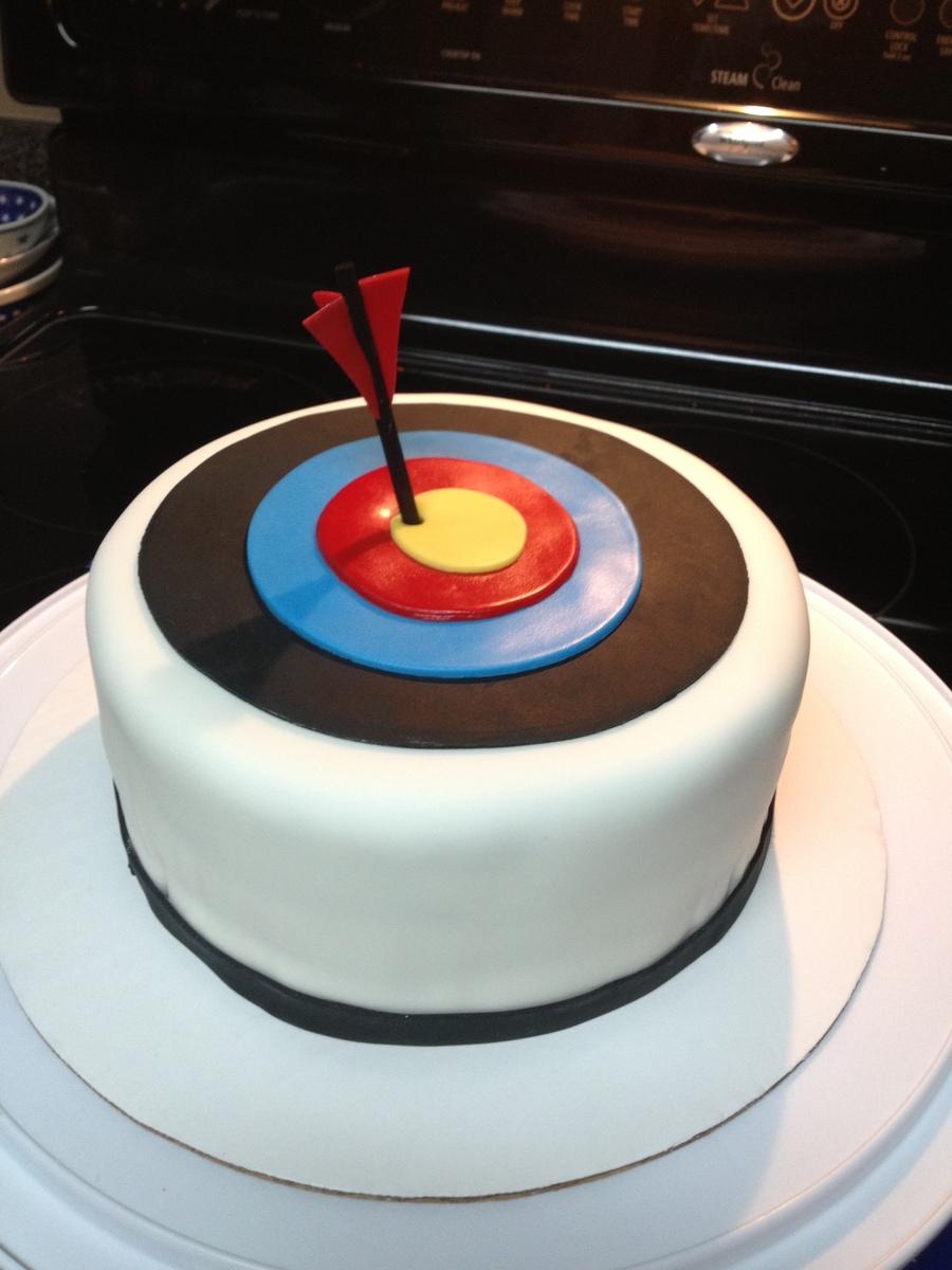 Archery Birthday Cake
