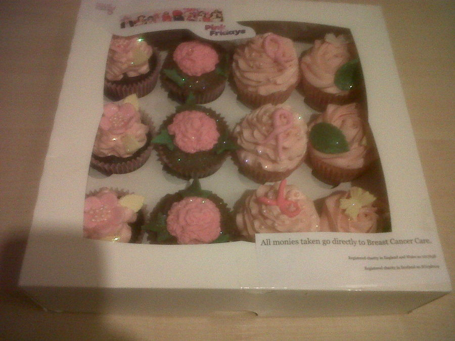 Pink Friday - Breast Cancer Care Fundraising Cupcakes on Cake Central