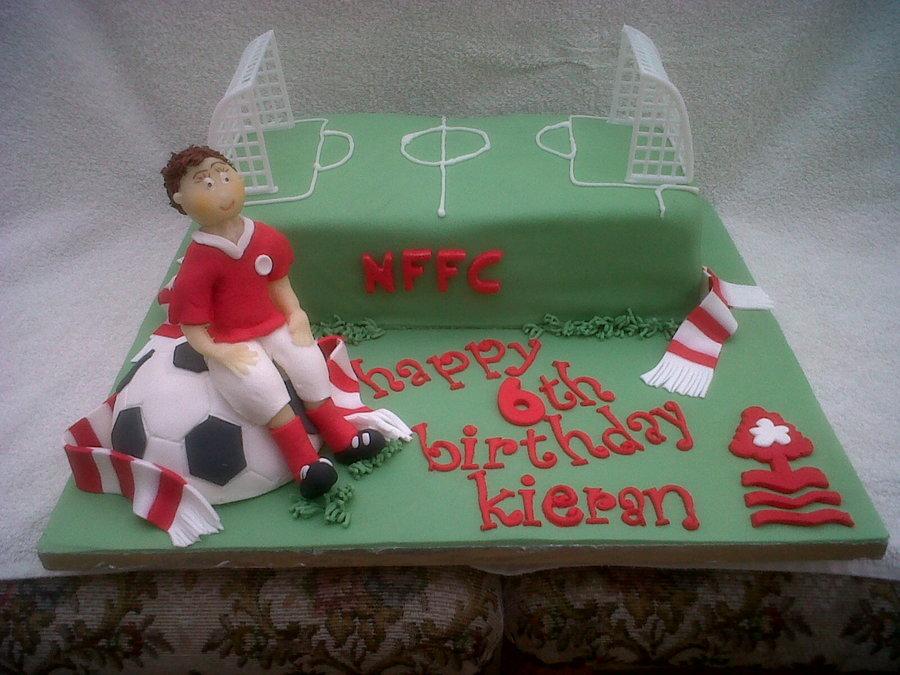 Football Cake Nffc Cakecentral Com
