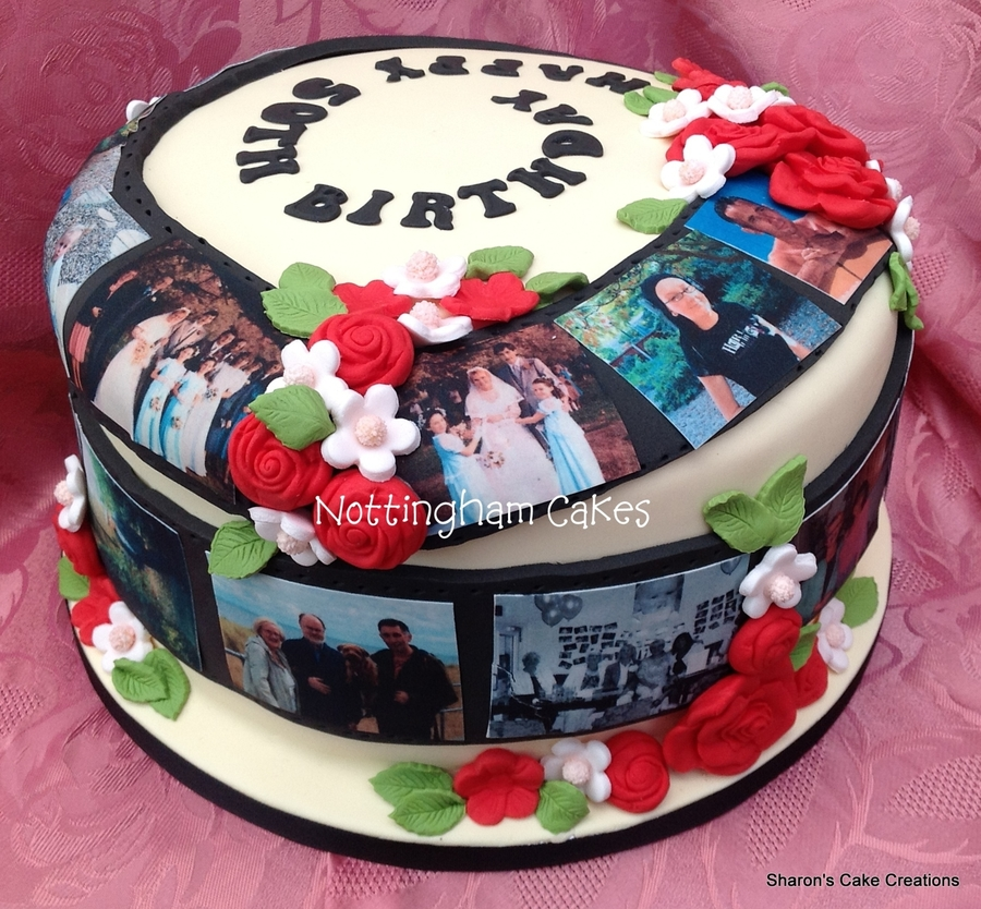 With Edible Image Photos Birthday Cakes