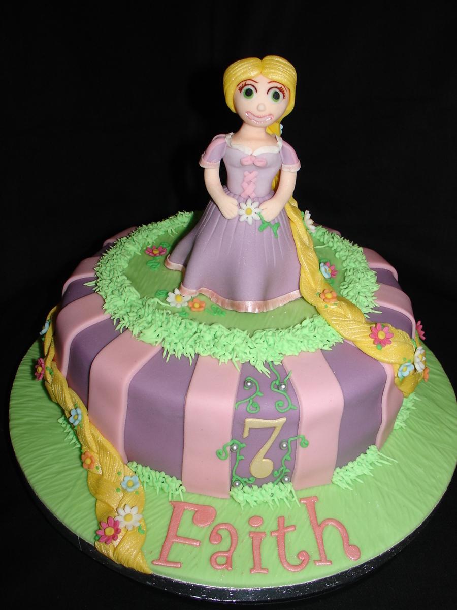 Pictures Of Rapunzel Birthday Cakes